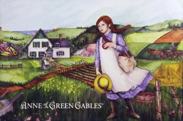 Anne of Green Gables postcard