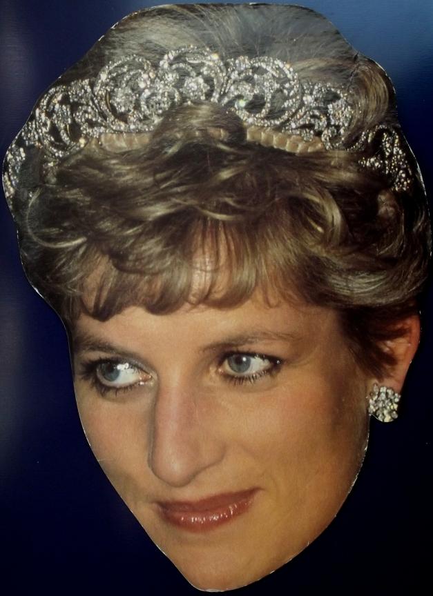 Postcard of Princess Diana
