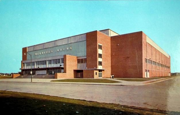 A 70s era brown building