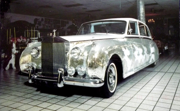 A bedazzled Rolls Royce