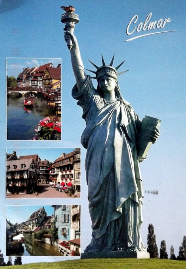 A statue of liberty from Colmar France