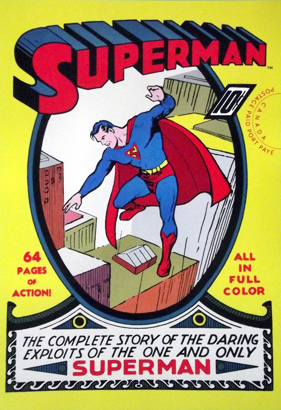 Cover of Superman comic book