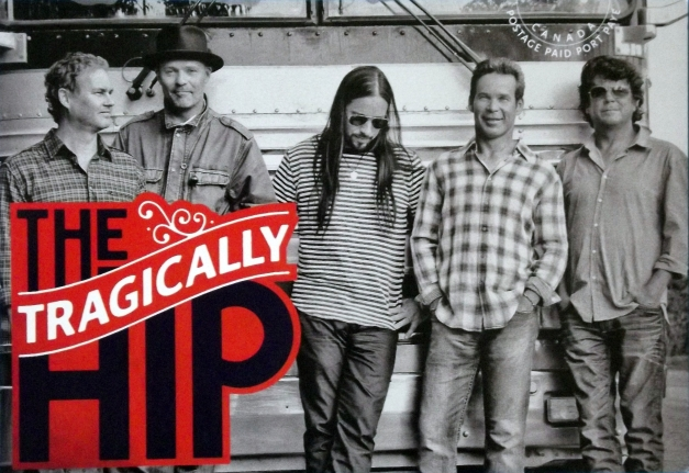 Photograph of the Tragically Hip