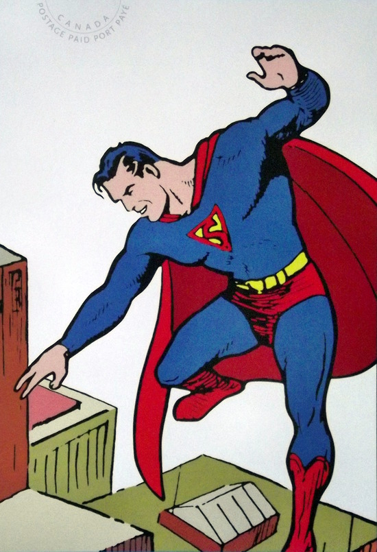 Superman illustration
