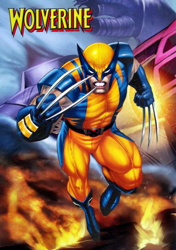 Wolverine the superhero springs into action