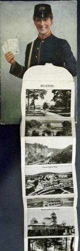 A foldout of photos of Buxton