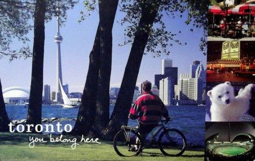 Toronto skyline from Toronto Island