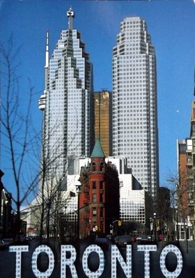 Godderham building with Toronto highrises
