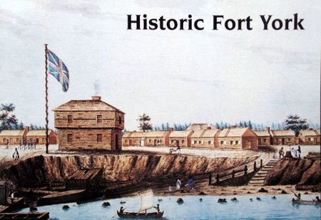 Painting of original fortress