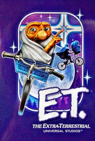 Illustration of the movie character E.T.