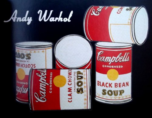 Andy Warhol's soup can painting