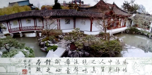 Photo of a Chinese Garden