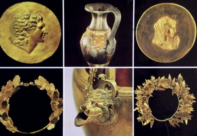 College of ancient Greek gold work