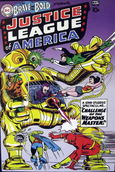 Justice League of America cover