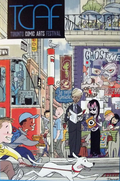 Toronto Comic Arts Festival postcard